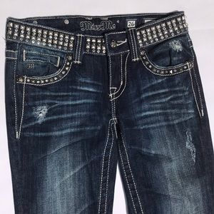 Miss Me Skinny Jeans Size 26